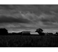 Troubled Sky Photographic Print