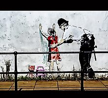 Banksy- Stop and search by TimConstable