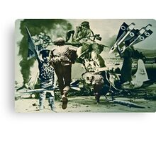 Salute to all Those Beautiful People at War. Canvas Print