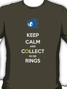 Keep Calm Sonic T-Shirt