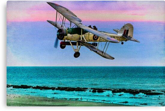 Fairey Swordfish II LS326 by Chris Lord