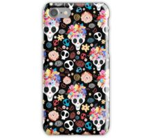 The beautiful of skulls   iPhone Case/Skin