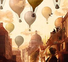 Voyage to the Unknown by DVerissimo