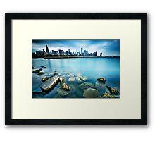 Windy City Blues Framed Print