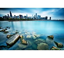 Windy City Blues Photographic Print