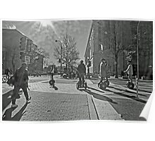 Streets of Washington DC Poster