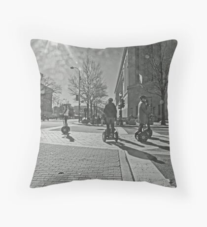 Streets of Washington DC Throw Pillow
