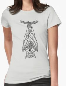 Hanging Around Womens Fitted T-Shirt