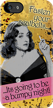 Fasten your Seatbelts - Bette Davis by Renato Roccon