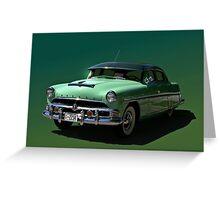 1954 Hudson Hornet 4 Door  Greeting Card
