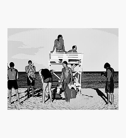 Boys, Boys, Boys Photographic Print