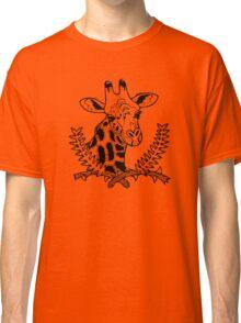 Giraffe and Acacia Classic T-Shirt