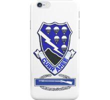 Currahee Patch & CIB - iPhone Case iPhone Case/Skin