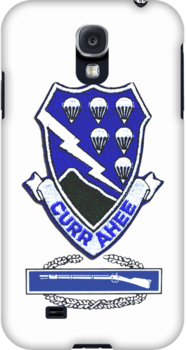 Currahee Patch & CIB - iPhone Case by Buckwhite