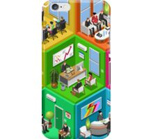 Business Cell Isometric iPhone Case/Skin