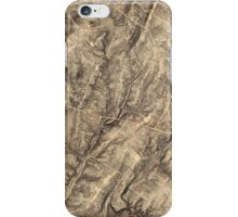 Civil War Map of Gregg & Stuart's Cavalry at the Battle of Gettysburg July 3 1863 iPhone Case/Skin