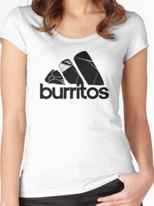 BURRITOS Women's Fitted Scoop T-Shirt