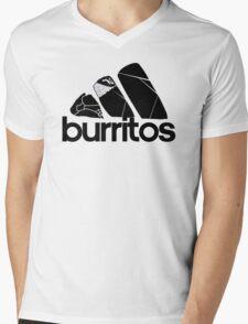 BURRITOS Mens V-Neck T-Shirt