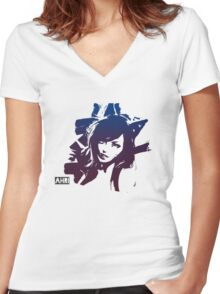 Ahri Women's Fitted V-Neck T-Shirt