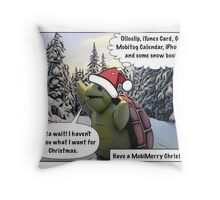 MobiMerry Christmas 2011 Throw Pillow
