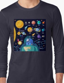 Universe Concept Isometric Long Sleeve T-Shirt