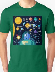Universe Concept Isometric T-Shirt