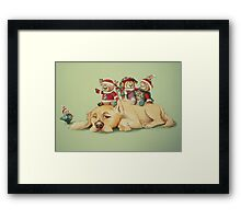 Beary Christmas Framed Print