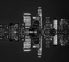 New York City Skyline in Black & White ~ New York City ~ USA by Sabine Jacobs