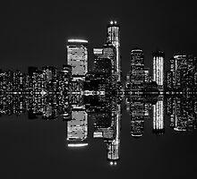 New York City Skyline in Black & White ~ New York City ~ USA by Sabine Jacobs