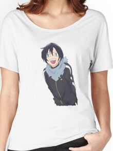 Noragami Yato Side-Strafing Women's Relaxed Fit T-Shirt