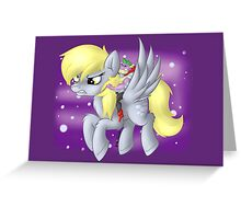 Derpy Hooves Sir Spike Greeting Card
