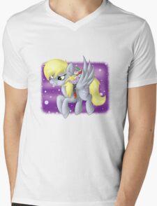 Derpy Hooves Sir Spike Mens V-Neck T-Shirt