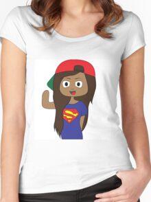 iiSuperwomanii Women's Fitted Scoop T-Shirt