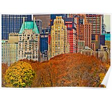 Central Park South ~ New York City ~ USA Poster