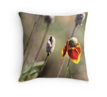 Oklahoma WIldflower Throw Pillow