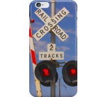 Railroad Crossing - iPhone Case  iPhone Case/Skin