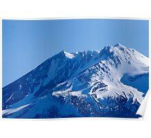 Shasta Mountain Poster