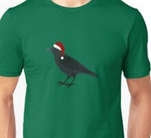 Christmas Crow Unisex T-Shirt