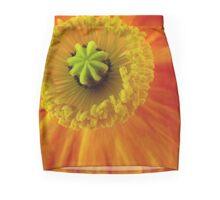 Poppy Heart Mini Skirt