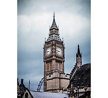 Home of Big Ben Photographic Print