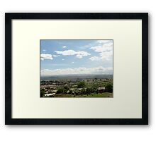 Giotto Dump Site 3.0 - Nakuru Framed Print