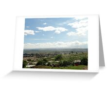 Giotto Dump Site 3.0 - Nakuru Greeting Card