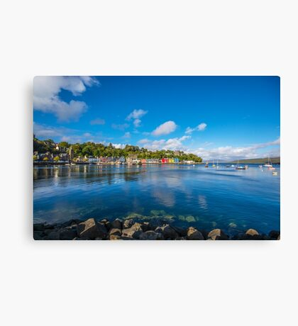 Colourful Tobermory 2 Canvas Print