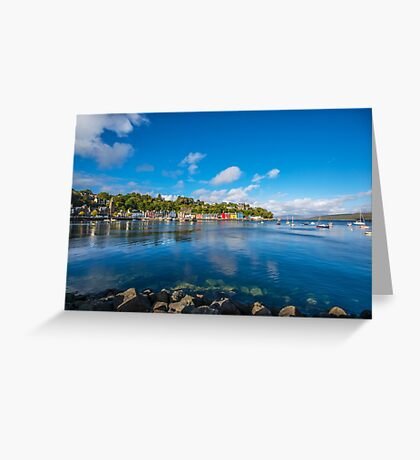 Colourful Tobermory 2 Greeting Card
