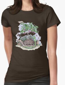 Wicking bed for Orphanage Garden Yasothon Womens Fitted T-Shirt