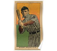 Benjamin K Edwards Collection Kippert Spokane Team baseball card portrait Poster