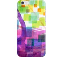 Bend and Squares iPhone Case/Skin