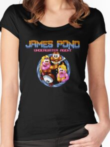 James Pond Women's Fitted Scoop T-Shirt