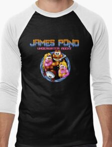 James Pond Men's Baseball ¾ T-Shirt