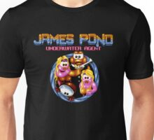 James Pond - SNES Title Screen Unisex T-Shirt